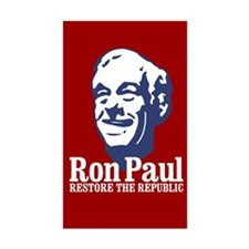 Restore the Republic Sticker (Rectangle)
