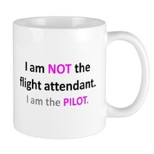 Unique Airline flight attendant Mug
