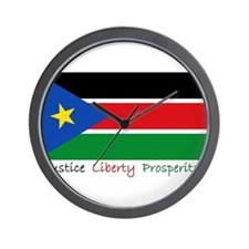 Cute South sudan Wall Clock