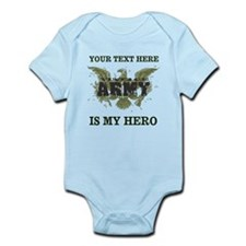 Personalizeable Army Hero Infant Bodysuit