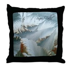 Snow Falls Throw Pillow