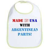 Made in USA with Argentinean Parts! Bib