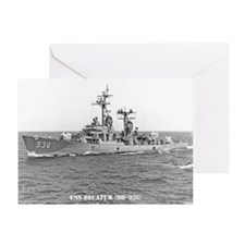 USS DECATUR Greeting Card