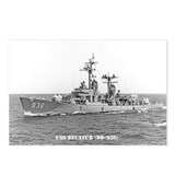 USS DECATUR Postcards (Package of 8)