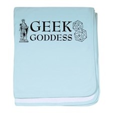 Geek Goddess baby blanket