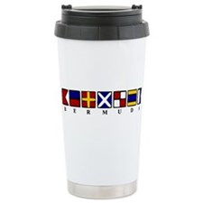 Nautical Bermuda Ceramic Travel Mug