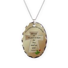 In Loving Memory of Mom Necklace