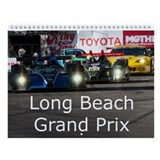 Long Beach Grand Prix Racing Wall Calendar
