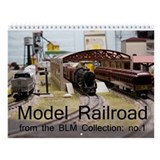Model Railroad BLM Collection no.1 Wall Calendar