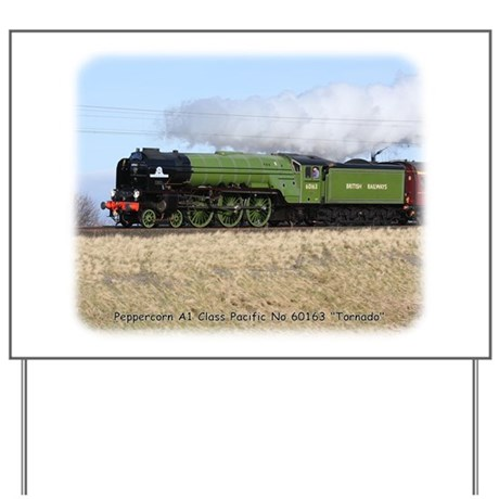 A1 Steam Loco Tornado 9Y487D-105 Yard Sign