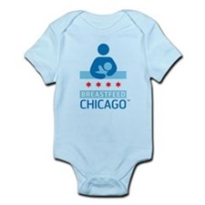 Breastfeed_Chicago_Logo_Æ?RGB-CafePress Body Suit