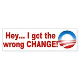Anti Obama 2012 Bumper Sticker