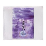 Reiki Art Throw Blanket