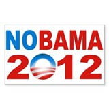 Anti Obama 2012 Decal