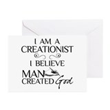 I Am A Creationist Greeting Cards (Pk of 10)