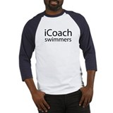 icoach swimmers Baseball Jersey