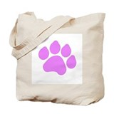 Paw Print Tote Bag
