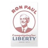 Campaigning for Liberty Decal