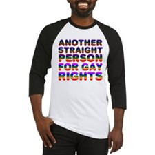 Pro Gay Rights Baseball Jersey