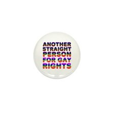 Pro Gay Rights Mini Button (100 pack)