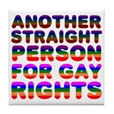 Pro Gay Rights Tile Coaster