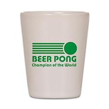 Beer Pong Champion Shot Glass