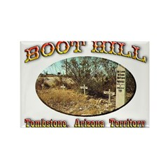 Boot Hill Rectangle Magnet (10 pack)