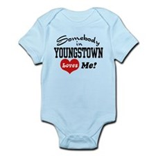 Somebody in Youngstown Loves Me Infant Bodysuit