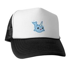Narwhal Kawaii Trucker Hat