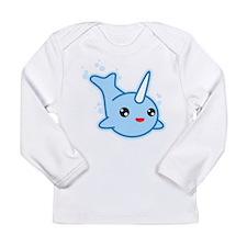 Narwhal Kawaii Long Sleeve Infant T-Shirt