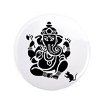"Ganesha 3.5"" Button 100 Pack"