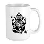 Ganesha White Large Mug
