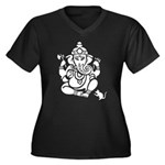 Remover Of Obstacles Women Plus Size V-Neck