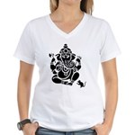Remover Of Obstacles Women's V-Neck White T-Shirt