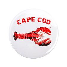"""Cape Cod Lobster 3.5"""" Button"""
