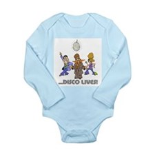 Disco Lives! Long Sleeve Infant Bodysuit