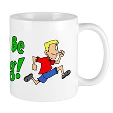 I'd Rather Be Running Mug