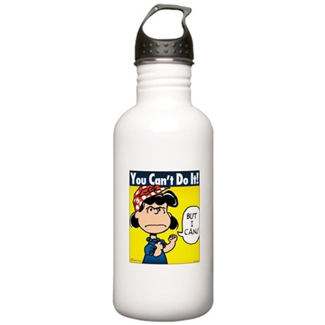 Lucy the Riveter Stainless Water Bottle 1.0L