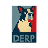 Derp Derp Derp Rectangle Magnet (100 pack)