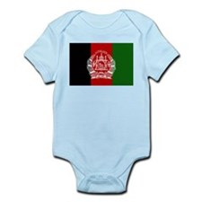 Afghanistan Flag Infant Creeper
