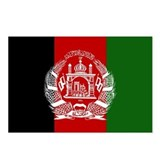 Afghanistan Flag Postcards (Package of 8)
