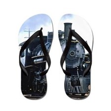 Steam Locomotive 94 Flip Flops