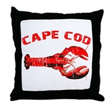 Cape Cod Lobster Throw Pillow