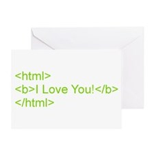 HTML Love Greeting Card