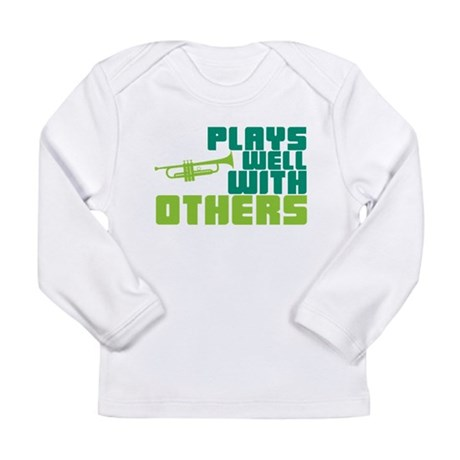 Plays Well with Others Long Sleeve Infant T-Shirt