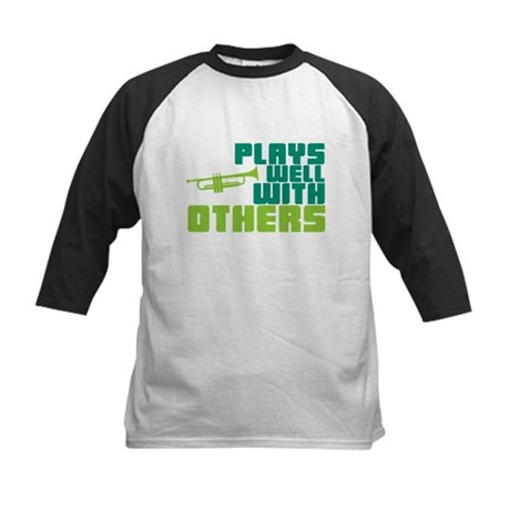 Plays Well with Others Kids Baseball Jersey