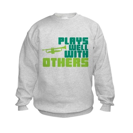 Plays Well with Others Kids Sweatshirt