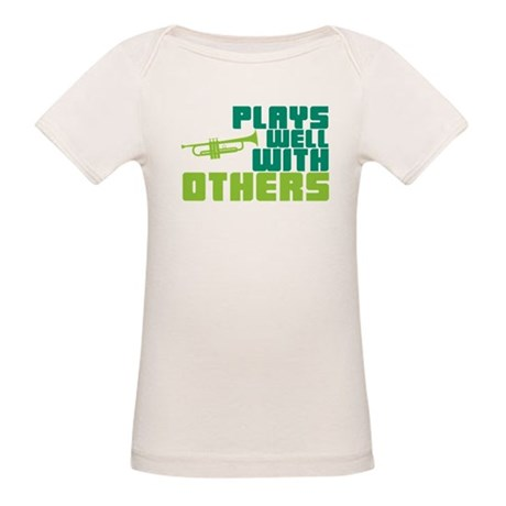 Plays Well with Others Organic Baby T-Shirt