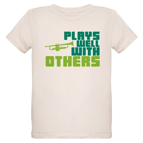 Plays Well with Others Organic Kids T-Shirt