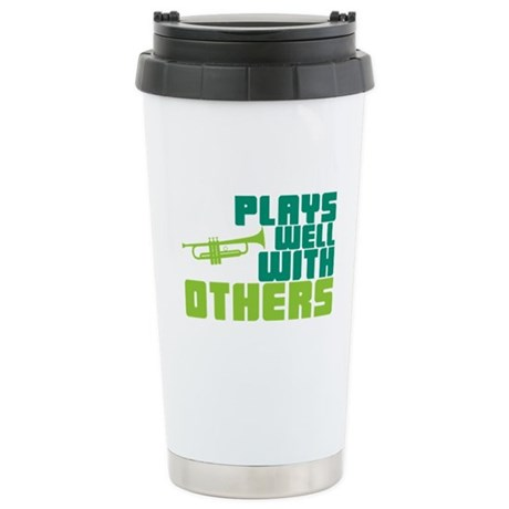 Plays Well with Others Ceramic Travel Mug